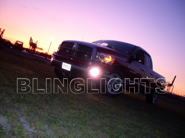 2003-2009 Dodge Ram 2500 Fog Lamp Driving Light Kit Halo Foglamps Angeleye Drivinglights