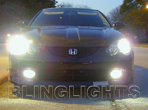 2002 2003 2004 Acura RSX White 4750K JDM Bulbs Headlamps Headlights Head Lamps Lights
