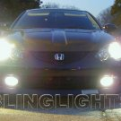 2002 2003 2004 Acura RSX White 4750K JDM Bulbs Headlamps Headlights Head Lamps Lights