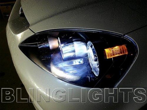 2005 2006 Acura RSX White 4750K JDM Bulbs Headlamps Headlights Head Lamps Lights
