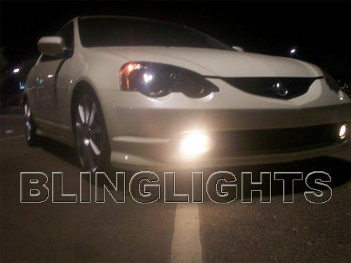 2002 2003 2004 Acura RSX Xenon Fog Lamps Driving Lights Kit