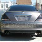 2005-2008 Acura RL Tinted Smoked Taillamps Taillights Overlays Film Protection