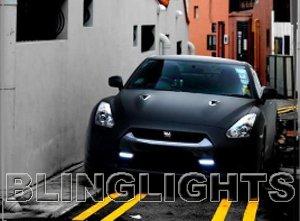 2009 2010 2011 2012 2013 Nissan GT-R Xenon Fog Lamps Driving Lights Foglamps Kit GTR GT R