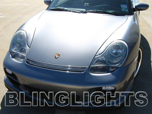 Porsche Boxster 986 Xenon Fog Lights Driving Lamps Kit 1997 1998 1999 2000 2001 2002 2003 2004