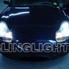 Porsche Boxster 986 White Bulbs Headlamps Headlights 1997 1998 1999 2000 2001 2002 2003 2004
