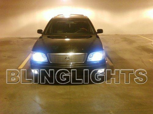 1998 1999 2000 Lexus LS400 Xenon HID Conversion Kit Headlamps Headlights Head Lamps Lights