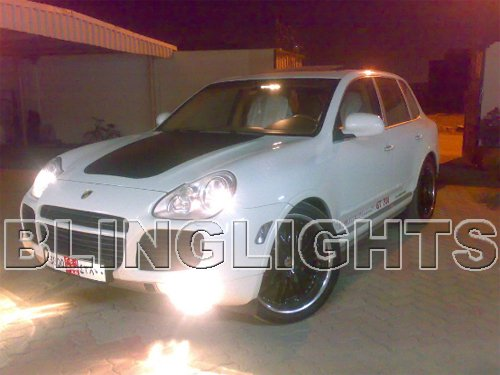 04 05 06 07 Porsche Cayenne Xenon Fog Lamp Light Kit 955 Foglamps Foglights Drivinglights