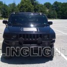 2006 2007 2008 2009 Hummer H3 Tint Protection Film for Smoked Headlamps Headlights Overlays