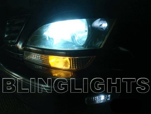 1998 1999 2000 2001 2002 2003 Lexus RX 300 RX300 HID Light Bulbs for OEM Xenon Headlamps Headlights