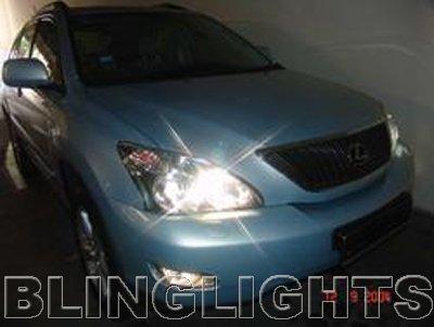 2004 2005 2006 2007 2008 2009 Lexus RX330 RX350 RX400h Bulbs Headlamps Headlights Head Lights RX