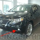 2010 2011 2012 RX350 RX450h Xenon Fog Lamps LED Driving Lights Kit RX 350 450