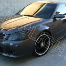 2005 2006 Nissan Altima Murdered Out Headlight Film Overlay Covers Kit