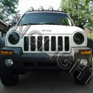 Jeep Liberty Tint Protection Film for Smoked Headlamps Headlights Head Lamps Lights Overlays
