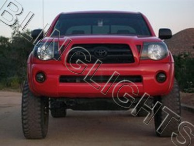 2005 2006 2007 2008 2009 2010 Toyota Tacoma Fog Lamps Tint Lights Films Smoked Lense Protection