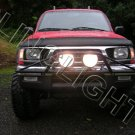 "Toyota Tacoma 7"" 100w Black Off Road Driving Lights Auxilliary Brush Bar Lamps Trail Lighting Kit"