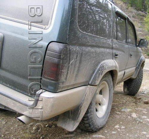 1996-1998 Toyota 4Runner Tint Smoke Taillamp Taillight Overlays Film Protection