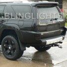 2003-2005 Toyota 4Runner Tint Smoke Taillamp Taillights Overlays Film Protection