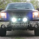 GMC Sierra Off Road Lamps Bumper Auxiliary Driving Lights Kit