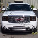 2008 2009 2010 2011 2012 GMC Sierra Tinted Smoked Protection Overlays Film for Headlamps Headlights