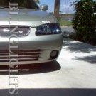 2000 2001 2002 2003 Nissan Sentra Tint Protection Film for Smoked Headlamps Headlights Overlays