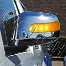 Suzuki Equator LED Side Mirror Turnsignal Cover Addon Lights