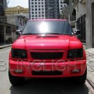 Isuzu Trooper Tint Protection Film for Smoked Headlamps Headlights Head Lamps Lights Overlays