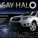 2010 2011 2012 Hyundai Santa Fe Halo Fog Light Lamp Kit