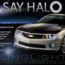 2010 2011 2012 2013 Chevrolet Camaro Halo Fog Lamp Light Kit