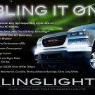 GMC Canyon LED DRL Strips Day Time Running Lights Headlamps Headlights Head Lamps Strip DRLs GMT355