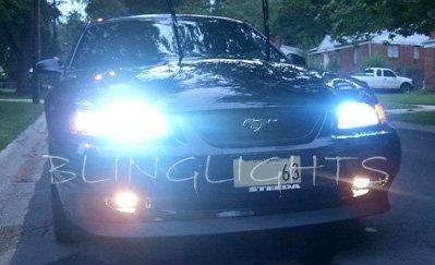 Ford Mustang HID Head Lamp Xenon Light Conversion Kit 55watt