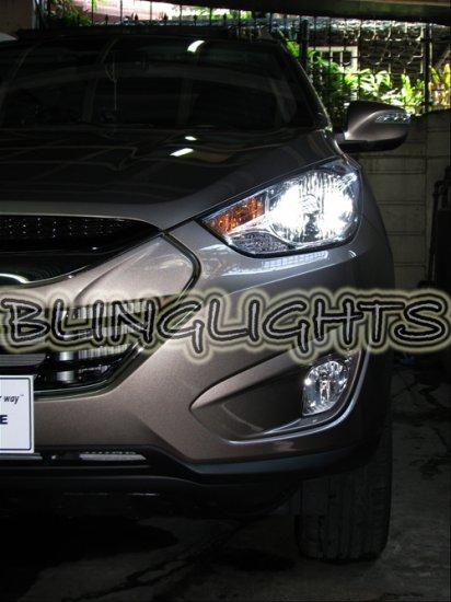 Hyundai tucson ix35 hid simulated head lamp light bulbs for Lamps tucson