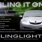Acura ZDX LED DRL Head Lamps Strips Day Time Running Lamps Kit