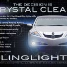 Acura ZDX LED Fog Lamps Driving Lights Kit Foglights Foglamps Drivinglights
