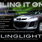 Mazda CX-7 CX-9 LED DRL Head Light Strips Day Time Running Lamp Kit