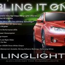 2008-2011 Subaru Impreza LED DRL Head Light Strips Day Time Running Lamp Kit