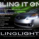 2007 2008 2009 Nissan Altima LED DRL Light Strips for Headlamps Headlights Head Lamps Strip Lights