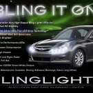 Subaru Legacy LED DRL Light Strips for Headlamps Headlights Head Lamps Day Time Running Lights