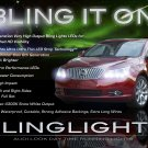 Buick LaCrosse LED DRL Light Strips for Headlamps Headlights Head Lights Day Time Running Lamps