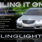 Buick Regal LED DRL Head Light Strips Day Time Running Lamp Kit