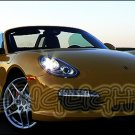 Porsche Boxster 987 White Bulbs Headlamps Headlights Head Lamps Lights 2005 2006 2007 2008 2009 2010