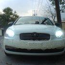 2006 2007 2008 2009 2010 2011 Hyundai Accent Bright White Light Bulbs for Headlamps Headlights
