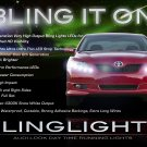 2007 2008 2009 Toyota Camry LED DRL Head Light Strips Kit