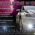 2010 2011 2012 Nissan Altima Sedan Xenon Foglamps Foglights Driving Fog Lights Lamps Kit