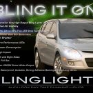 2007-2010 Hyundai Elantra Touring LED Head Light Strips DRL Day Time Running Lamp Kit