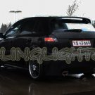 2006 2007 2008 2009 2010 2011 Kia Rio5 Tint Overlays Taillamps Taillights Tail Lamps Lights Smoke