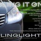 2007-2010 Hyundai Elantra Sedan LED Head Light Strips DRL Day Time Running Lamp Kit