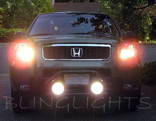 Honda Pilot Bumper Bar Off Road Auxiliary Driving Lights Lamps