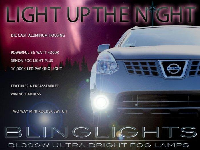 2008 2009 2010 Nissan Rogue Xenon Fog Lamps Driving Lights Kit