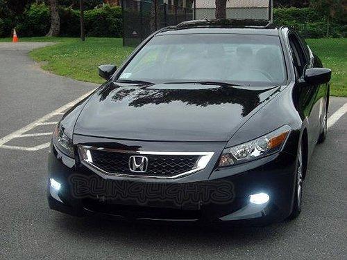 2008 2009 2010 Honda Accord Fog Lamps Driving Lights Coupe Sedan Xenon