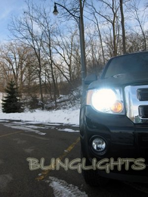 2008 2009 2010 2011 2012 Ford Escape Bright Light Bulbs for Headlamps Headlights Head Lamps